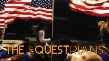 the_equestrians_young_guns_flags_blur