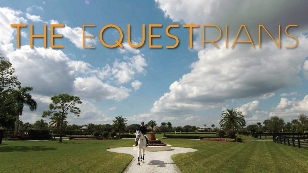 The world class Double H Farm in Wellington, Florida.