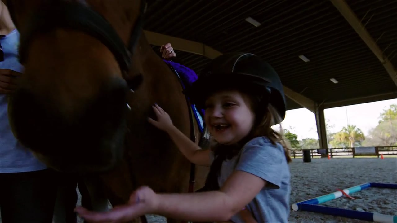 The Equestrians for Vinceremos Therapeutic Riding Center